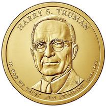 Nova Moeda Estados Unidos 2015 1 Dolar Harry S. Truman Fc