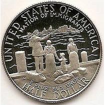 Usa, Moeda De 1/2 Dolar, 1986, Ni, Proof-nação De Imigrantes
