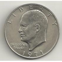 1 Dólar 1971 - Cuproníquel - Moeda Grande