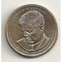 1 Dólar - John F. Kennedy - Letra D - Fc