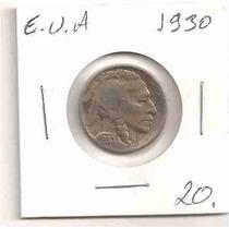 Ml-0228 - Moeda Dos Eeuu (usa) - Five Cents. - 1930 - Mbc