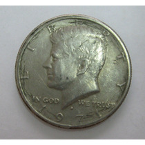 Usa: Bela Moeda Half Dollar 1971 D Mbc/soberba