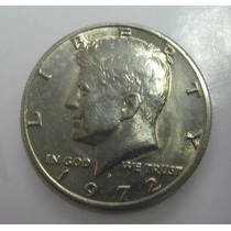 Usa: Bela Moeda Half Dollar 1972 D S/fc