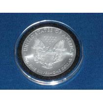 Moeda Dolar De Prata 1 Oz. - Us Silver Eagle Dollar - 2008
