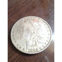 Moeda 1 Dolar De Prata 1881