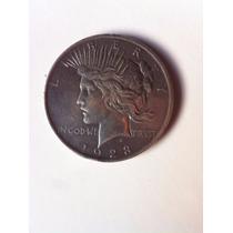 Moeda One Dollar Prata 26,7 Gramas 1923
