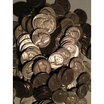 30 Moedas Jefferson Nickel Datas Diversas Americana