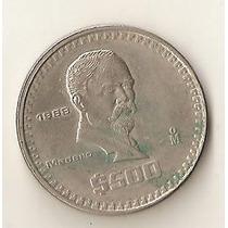 2007 - Mexico 500 Pesos 1988 - Madero - Niquel - Sob