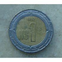 8863 - Mexico 1994 - 1 Peso -bimetal 21 Mm