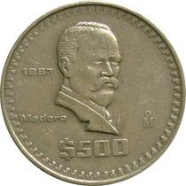 México - 500 Pesos 1987