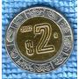 Moeda México - 2 Novo Peso - 2002 - Bicolor