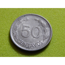 Moeda Do Equador De 50 Centavos De 1977 (ref 483)