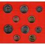 Barbados - Set Com 5 Moedas Fc - 1 Cent A 1 Dollar - 2009-11