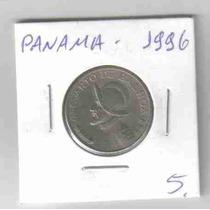 6785 Moeda Panamá (cvuarto De Balboa) 24mm 1996