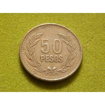 Moeda Da Colômbia De 50 Pesos De 2007 (ref 1672)