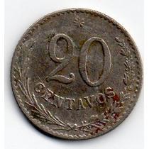 20 Centavos De 1900