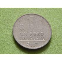Moeda Do Uruguai De 1 Peso De 2007 (ref 1718)
