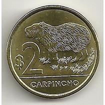 Uruguai - 2 Pesos - Capivara - Animais - 2012 - F C