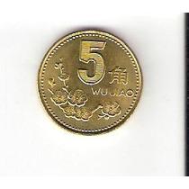 Promoção - Linda Moeda De 5 Jiao De 1995 - Vejam A Foto !!!