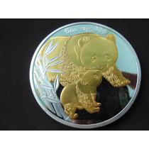 Moeda Medalha Da China Fc - 2004 69mm - Frete Grátis!!!