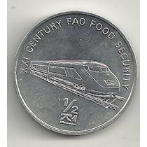1/2 Chon - Coréia Do Norte - Trem - Meio De Transporte