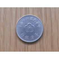 Moeda De Taiwan - 1 Yuan (anos 70)