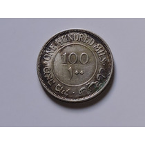 Palestina 100 Mils 1927 Prata