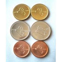 Lote 3 Moedas Do Iraque Set 25 ,50 E 100 Dinar 2004 Todas Fc