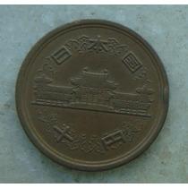 8997 - Moeda Japão 10 Yens Bronze, 23mm - Ver Fotos