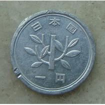 8977 - Moeda Japão 1 Yen Aluminio, 20mm