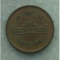 8964 - Moeda Japão 10 Yens Bronze, 23mm - Ver Fotos