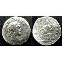 Denario Prateado Imperador Septimius Severus Império Romano