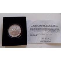 Moeda National Prata Pura-999 1 Onça-banco Central Americano