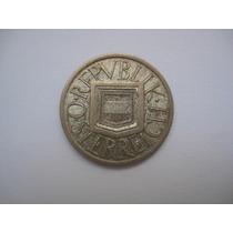 Austria Moeda Prata 1/2 Schilling 1925 - Mbc