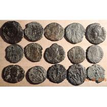 Lote 15 Moedas Antigas Império Romano Grande Promoção