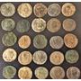 Lote De 25 Moedas Da Era D Costantino Império Romano,antigas