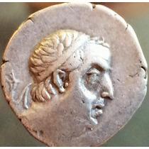 Moeda Antiga Dracma Grego De Ariobarzanes 95 - 62 Ac