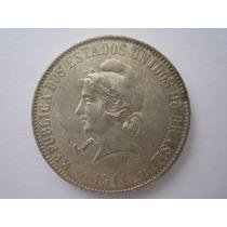 Brasil Moeda Prata 2000 Réis 1911 Rara Na Conservação
