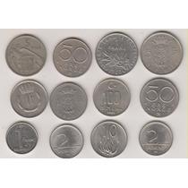 277 - 2 Moedas Estrangeiras Vários Paises O Lote R$ 45,00