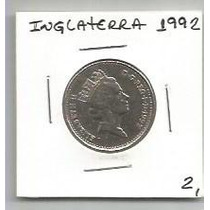 139 - Moeda Inglaterra 1992 - Ten Pence - 20mm