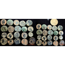 Lote Lindo 20 Mini Moedas Antigas Império Romano