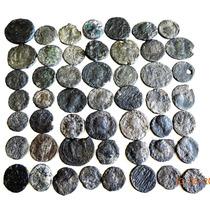 Lote De 50 Moedas Antigas Império Romano Diversos Padrões