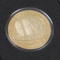 Moeda Ouro Comemorativa - World Trade Center