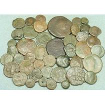 Lote 50 Moedas Gregas E Império Romano - Roma Grécia Antiga