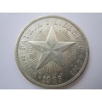 Cuba Moeda Prata 1 Peso 1933