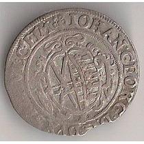 Alemanha/saxônia, 1/24 De Taler, Prata, 1629, Mbc+