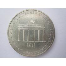Alemanha Prata 625 Moeda 10 Mark 1991
