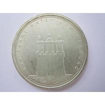 Alemanha Prata 625 Moeda 10 Mark 1989