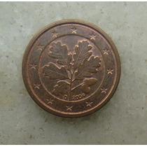 4824 Alemanha - 1 Cent Euro 2004 - Letra D - 16mm