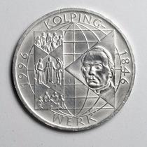 Moeda Prata Da Alemanha Comemorativa 10 Marcos 1996 Kolping